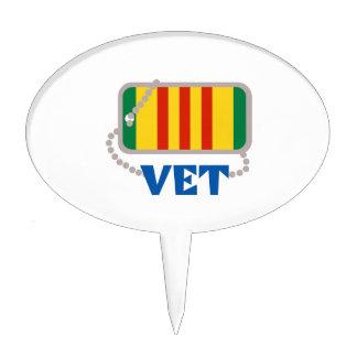 VIETNAM VET CAKE TOPPER