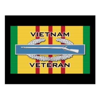 Vietnam Vet CIB Postcard
