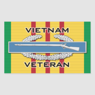Vietnam Vet CIB Stickers