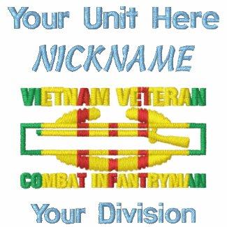 Vietnam Vet Combat Infantryman Badge Shirt