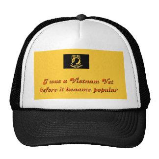 Vietnam Vet Mesh Hats