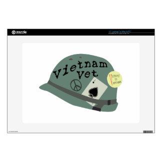 Vietnam Vet Laptop Skins