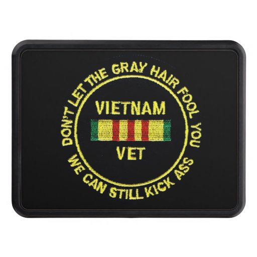 VIETNAM VET TRAILER HITCH COVERS