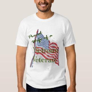 Vietnam vet wife t shirts