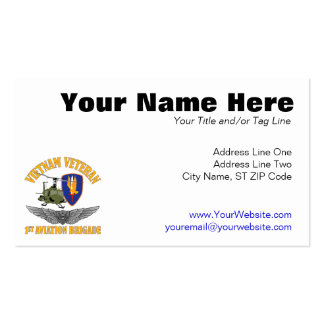 Vietnam Veteran Aircrew Wings Double-Sided Standard Business Cards (Pack Of 100)