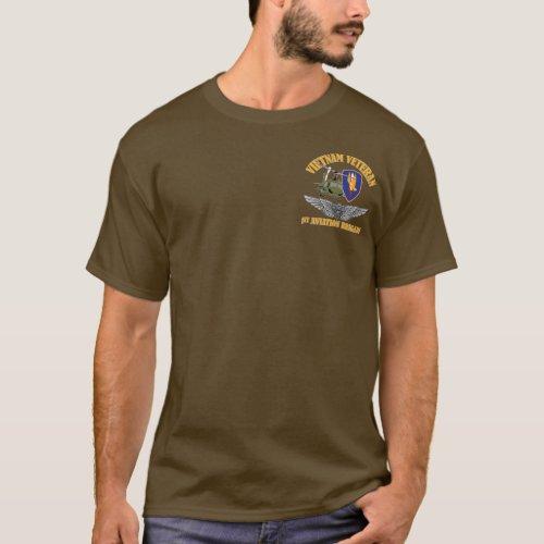 Vietnam Veteran Aircrew Wings T_Shirt