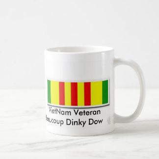 VietNam Veteran Beaucoup Dinky Dow Classic White Coffee Mug