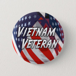 Vietnam Veteran  Button