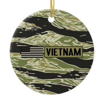 Vietnam Veteran Ceramic Ornament