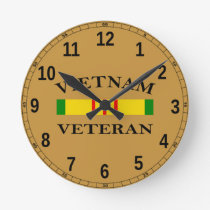 Vietnam Veteran Clock
