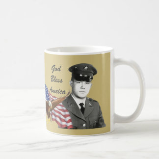 Vietnam Veteran Eagle and Flag Mug