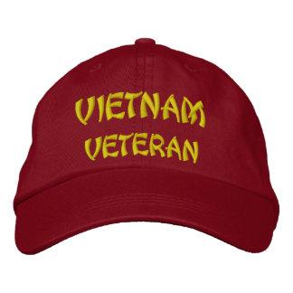 VIETNAM VETERAN EMBROIDERED BASEBALL CAP