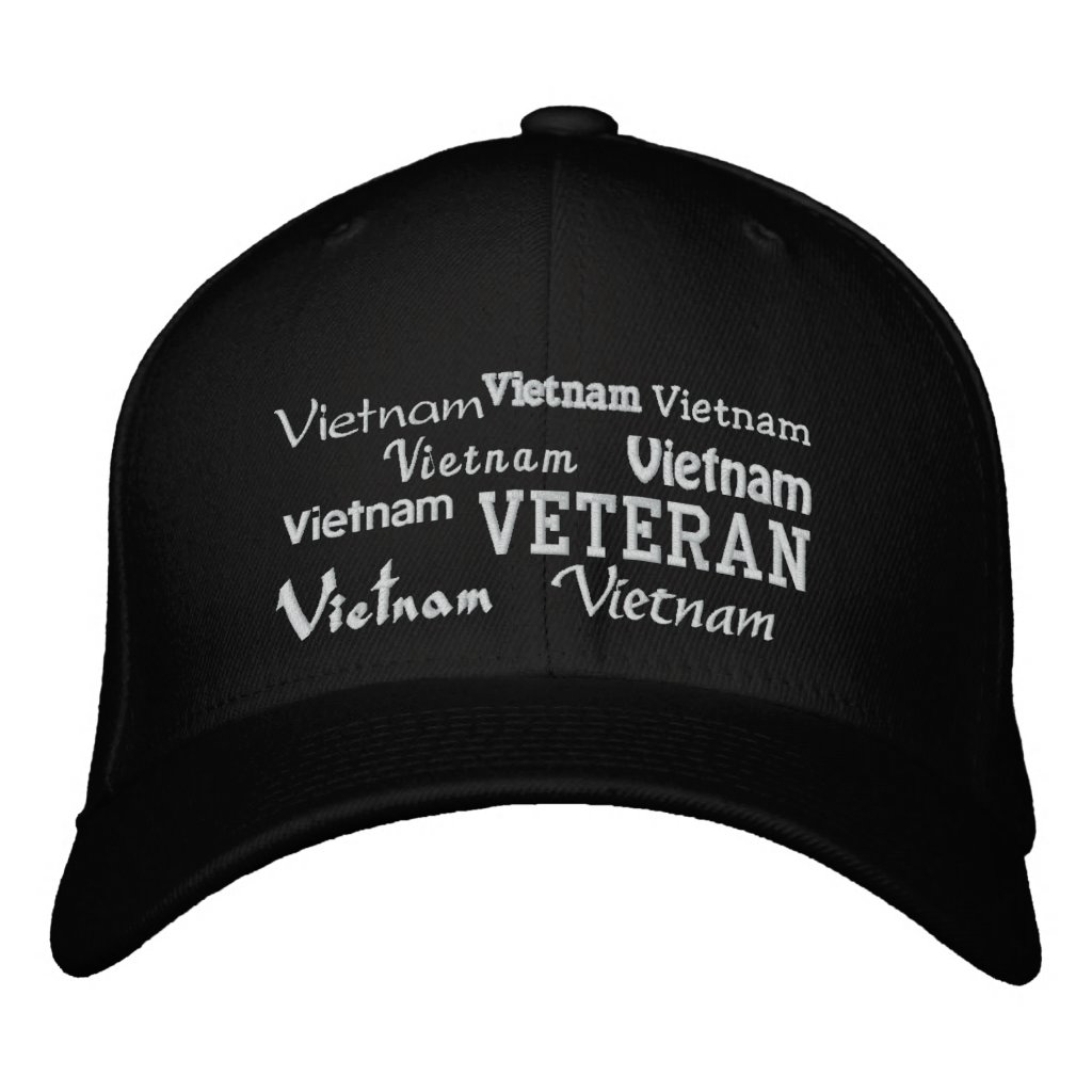 Vietnam Veteran - Embroidered Hat