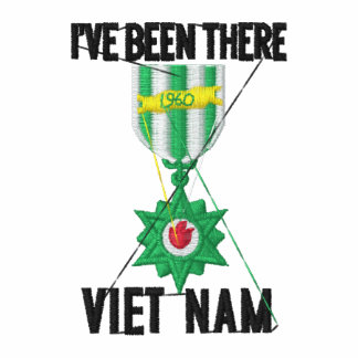 Vietnam Veteran Embroidered Polo Shirt