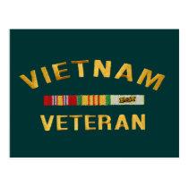 Vietnam Veteran Gifts Postcard