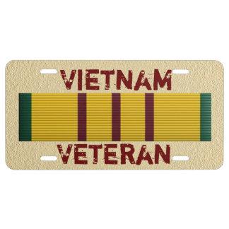 Vietnam Veteran - license plate