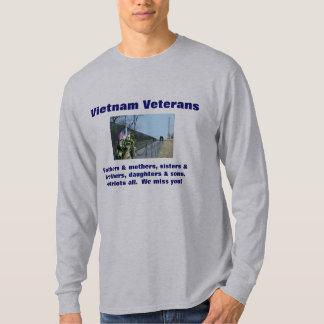 Vietnam Veteran Memorial t-shirt We miss you