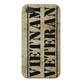Vietnam Veteran Military Grunge Vet iPhone 4/4S Case