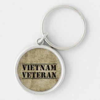 Vietnam Veteran Military Keychain