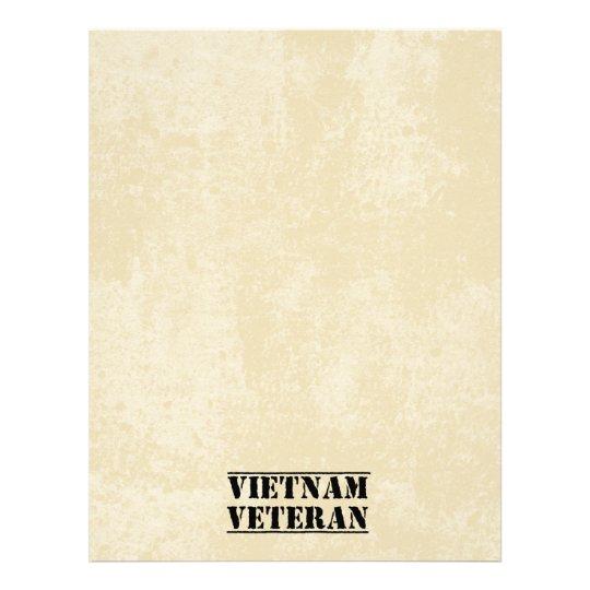 Vietnam Veteran Military Letterhead