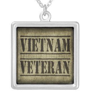 Vietnam Veteran Military Necklace