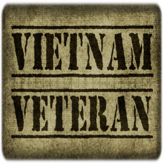Vietnam Veteran Military Standing Photo Sculpture