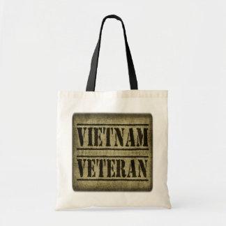 Vietnam Veteran Military Tote Bag