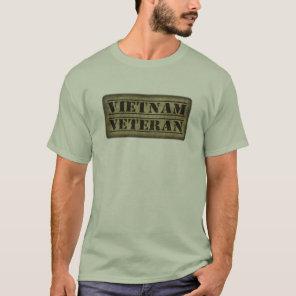 Vietnam Veteran Military Vet T-Shirt
