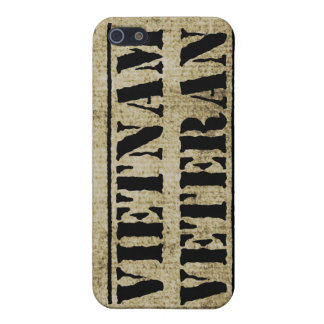 Vietnam Veteran Military War Vet iPhone SE/5/5s Case