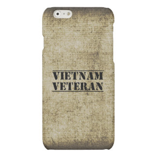 Vietnam Veteran Military War Vet Matte iPhone 6 Case