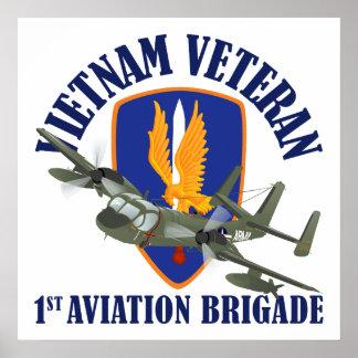 Vietnam Veteran Mohawk Print