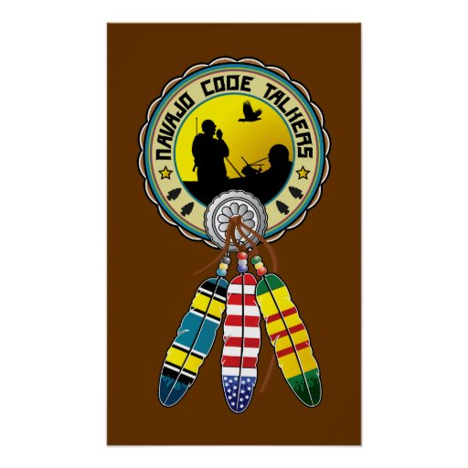 Vietnam Veteran - Native Amercan Code talkers Poster
