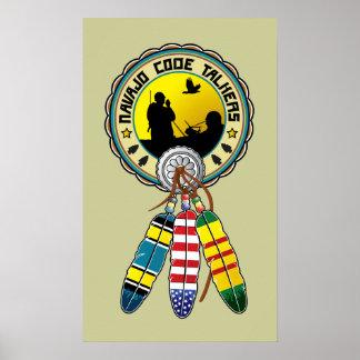 Vietnam Veteran - Native Amercian Code talkers Poster