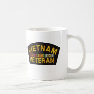 VIETNAM Veteran Patch Classic White Coffee Mug