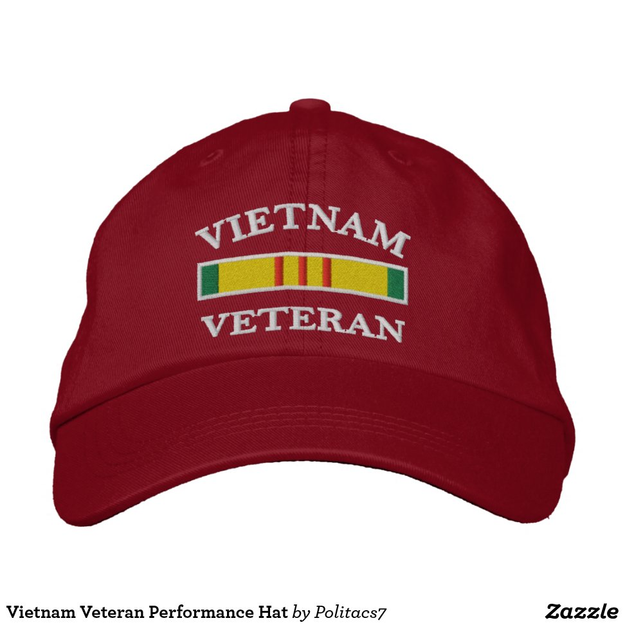 fd7b4984b60c7 Vietnam Veteran Performance Hat - Stylish Customizable Fashion Trucker Hats