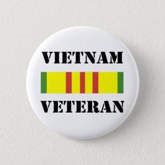 vietnam veteran pinback button