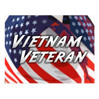 Vietnam Veteran Postcard