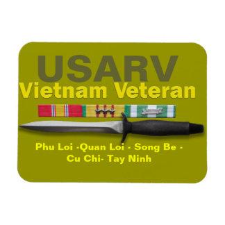 Vietnam Veteran  Ribbons Magnet