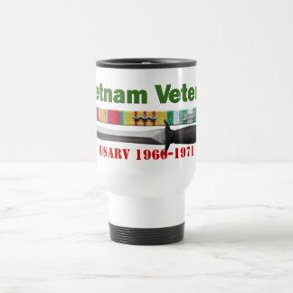 Vietnam Veteran - Ribbons Travel Mug