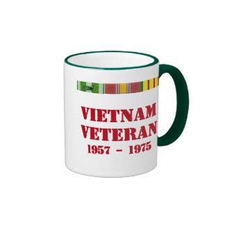 Vietnam Veteran Ringer Mug