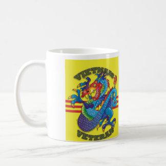 Vietnam Veteran Service and Dragon Coffee Mug