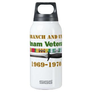 Vietnam Veteran 10 Oz Insulated SIGG Thermos Water Bottle