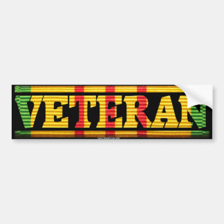 Vietnam Veteran VSM Ribbon Bumper Stickers