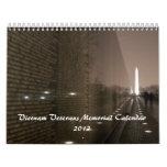 Vietnam Veterans Memorial Calendar 2013
