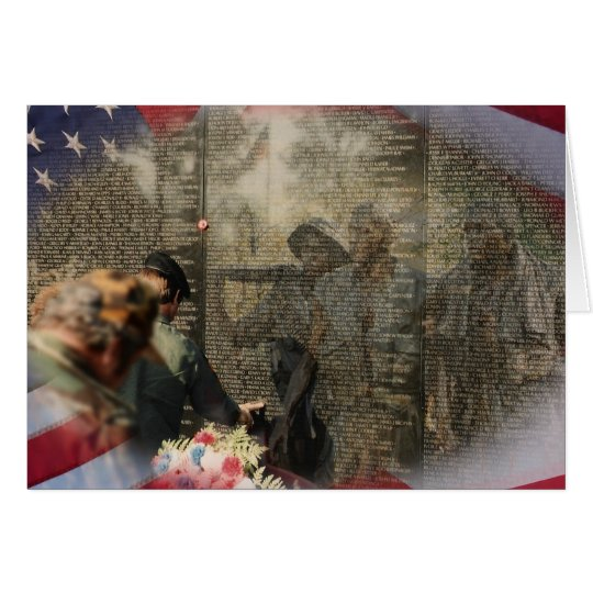 Vietnam Veterans' Memorial Card
