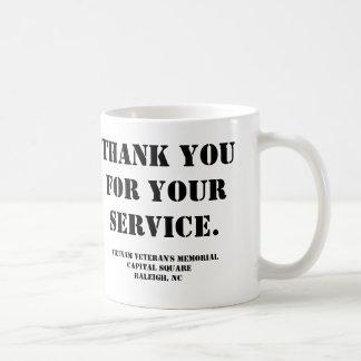 Vietnam Veteran's Memorial Classic White Coffee Mug