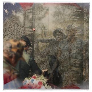 Vietnam Veterans' Memorial Cloth Napkin