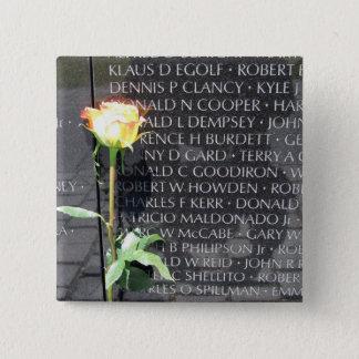 vietnam veterans memorial pinback button