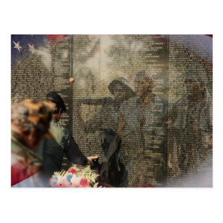 Vietnam Veterans' Memorial Postcard