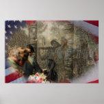 Vietnam Veterans' Memorial Print